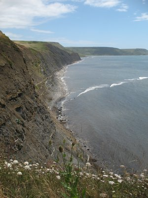 South West Coast Path Holidays - Cliff run to Kimmeridge