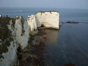 South West Coast Path Walking Holidays - Old Harry Rocks