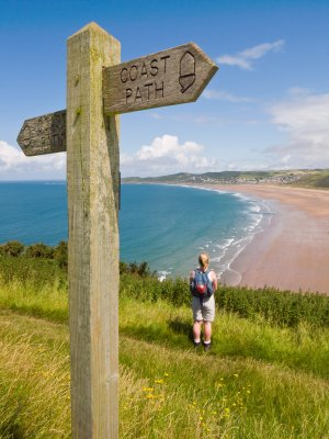 Woolacombe Cornwall Coast Path, Walking Holidays UK, Walking Information South West
