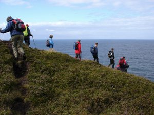 Cornish Coast Path Holidays on the South West Coast Path group walking tours UK