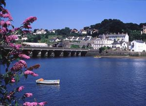 Bideford North Devon accommodation for walkers on the South West Coast Path