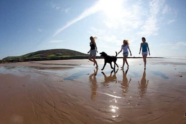 Croyde Beach Devon Coast Path Self Guided Independent Walking Holidays