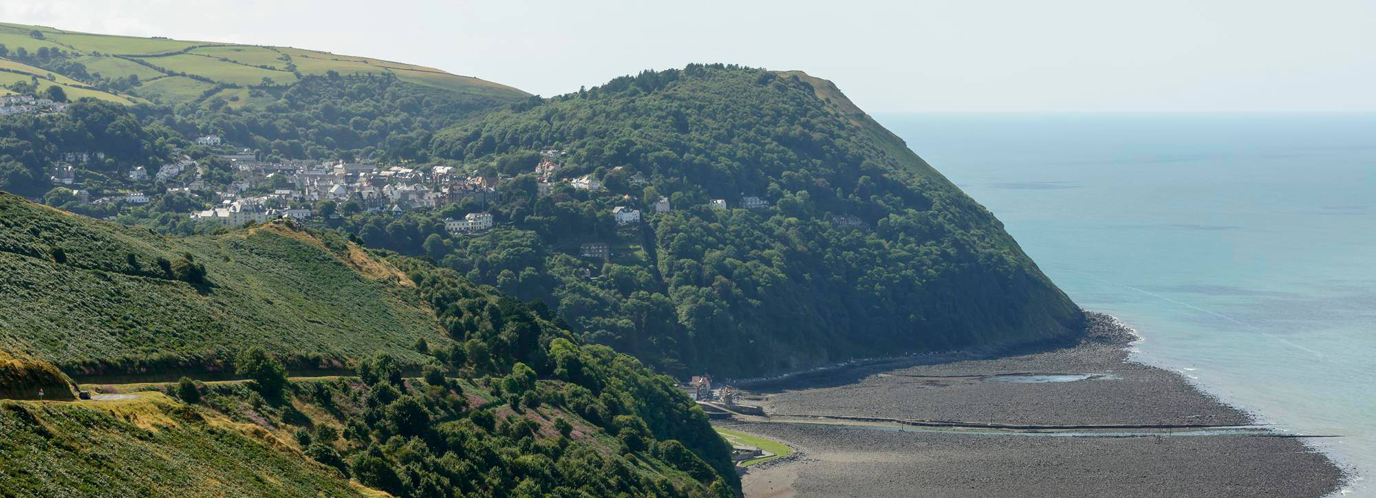 Historic town of Lynmouth