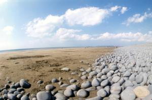 Westward Ho! Pebble Bank North Devon Coast Path UK