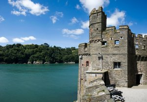 Dartmouth Castle Devon Coast Path Walking Holidays UK Trekking Trail Route