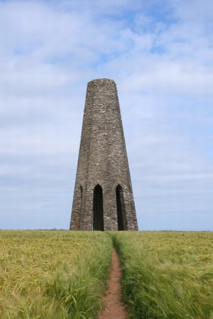 Daymark Tower South West Coast Path Brixham Self Guided Walking Holiday UK