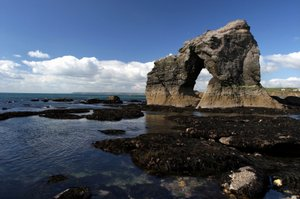 Thurlestone Arch Devon Coastal Path Uk Walking Holidays Trekking National Trail