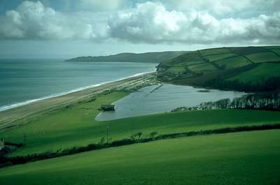 Slapton Sands Devon Coast Path Walking Holidays South West Coastal Path UK
