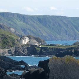 Hartland Quay Walking Accommodation, Cornwall Coast Path, Luggage Transfers South West