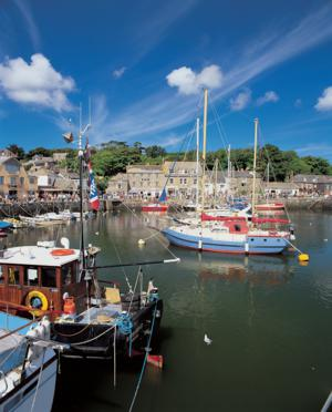 Padstow Harbour Cornwall start of The Saints Way Walking Holiday