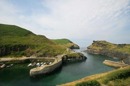Boscastle South West Coast Path North Cornwall Ten Tors Route Bodmin Moor