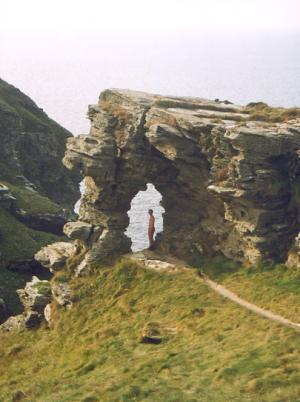 Ladies Window trekking in Britain on long distance paths through Cornwall