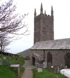 Morwenstow Church, South West Walking Holidays, Self guided walking England