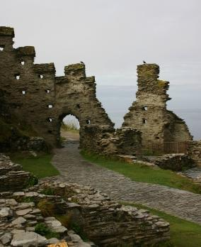 Cornish Coast Path - Tintagel Castle