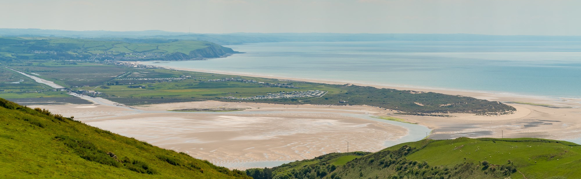 Looking towards Aberdovey and the Afon Lefi