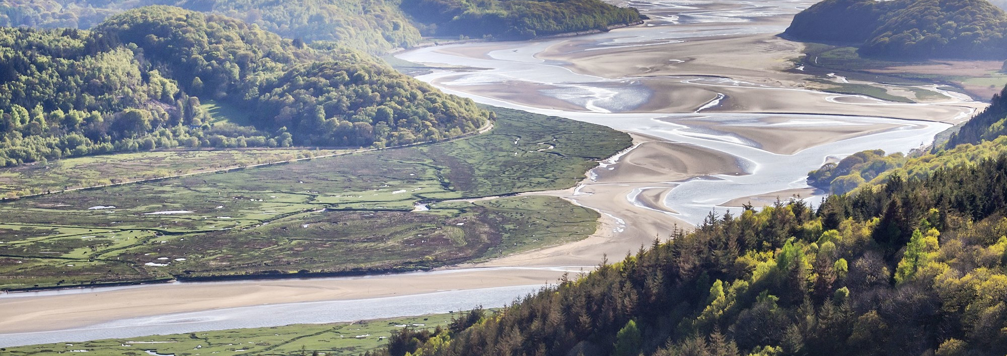 View over the Mawddach Estuary