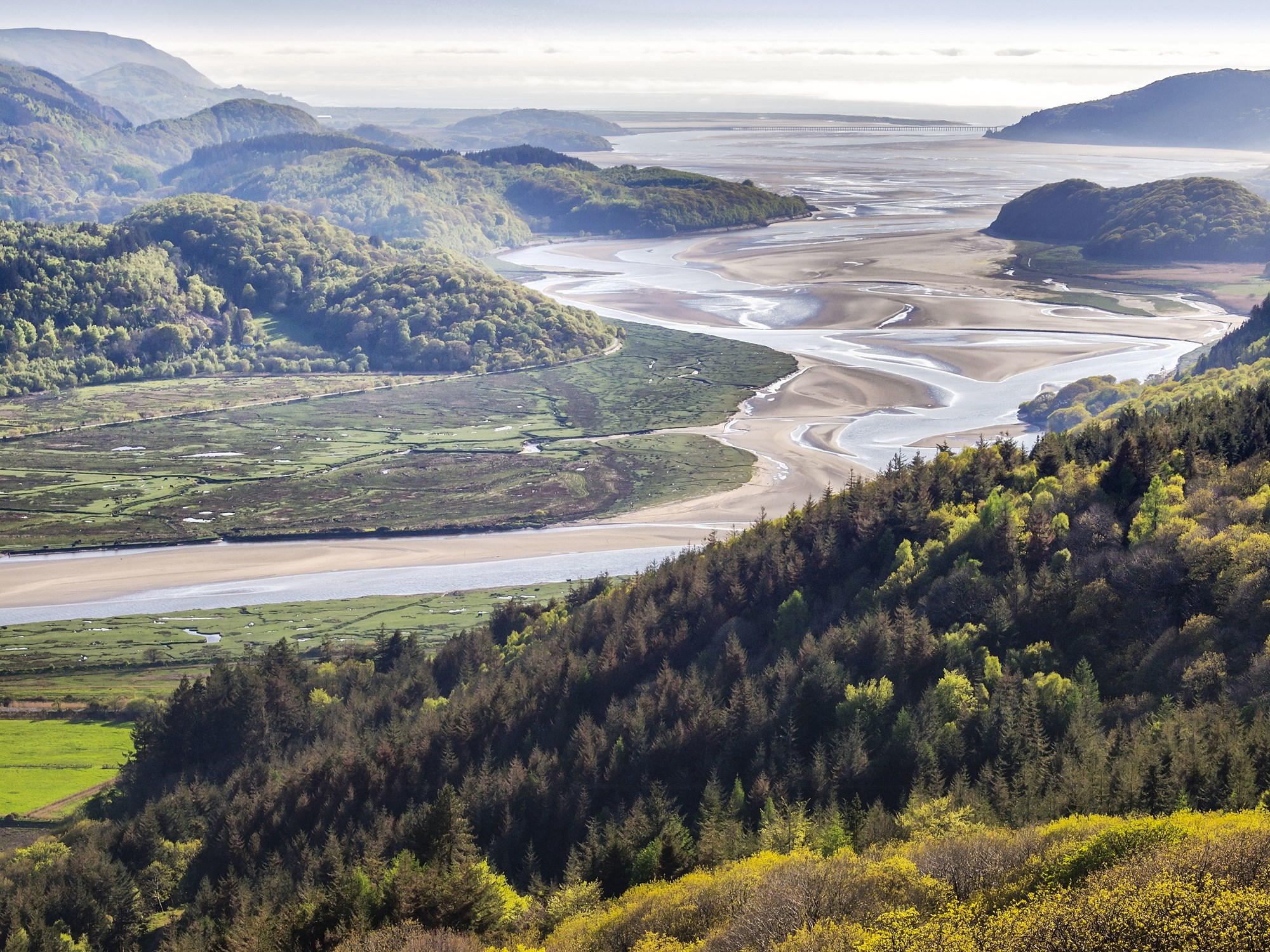 View over the Mawddach Estuary near Barmouth