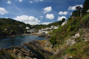 Polperro Cottages, South West Coastal Path Walking Holidays Cornwall, Uk National Trail Trekking Route