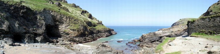 Tintagel Beach SW Coast Path Cornwall UK Walking and Trekking Holidays