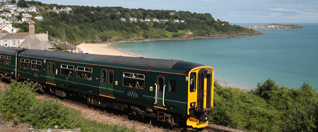 GWR train st St Ives