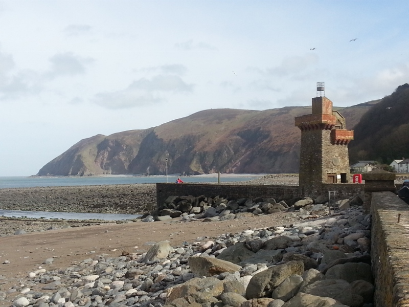 Lynmouth Tower South West Coast Path