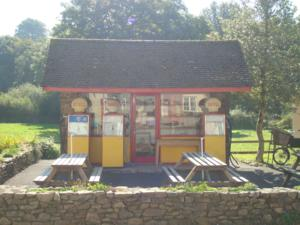 Withypool Filling Station Cafe  Devon walking holidays Exmoor