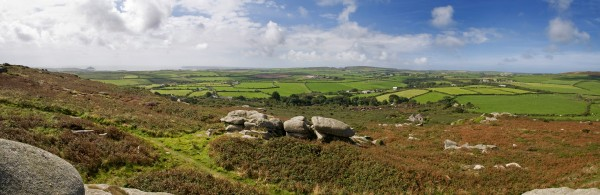 trencom hill st michaels way footpath long distance trails cornwall uk walking holidays