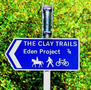 Eden Project and Clay Trail : Encounter Walking Holidays : Walking Holidays in England and Walking Short Breaks on The South West Coast Path, Two Moors Way and the Saints Way