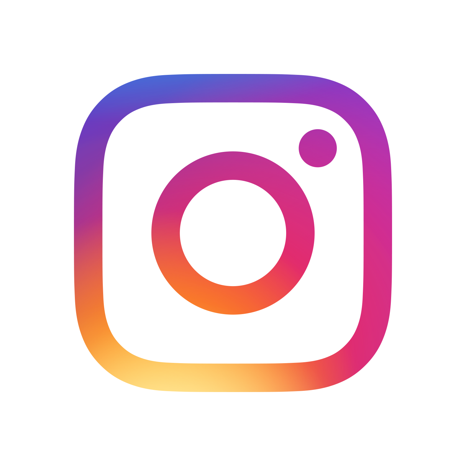 Instagram logo - walking holidays in the South West Coast Path